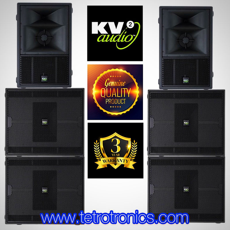 🌍 Kv2 Audio Single Es System 📮Email for Quote