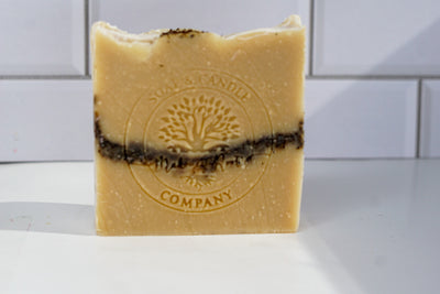 Unscented Coffee Ground Soap