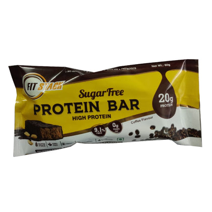 AM Nutrition FitStack Coffee Flavour Protein Bar