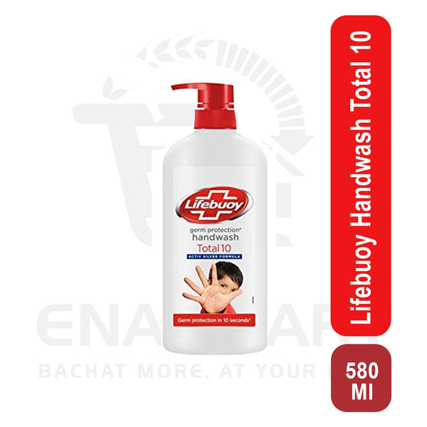 Lifebuoy Hand Wash Total 10 580ml