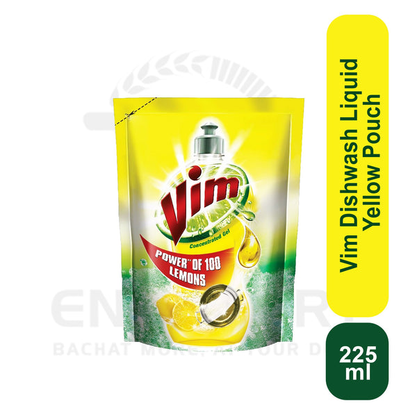 Vim Liquid Pouch 225 ml
