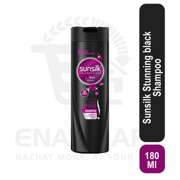 Sunsilk Stunning black Shampoo 180ml
