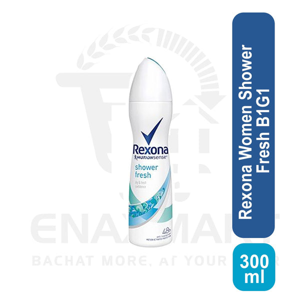 Rexona Women Shower Fresh 300ml Buy 1 Get 1 free