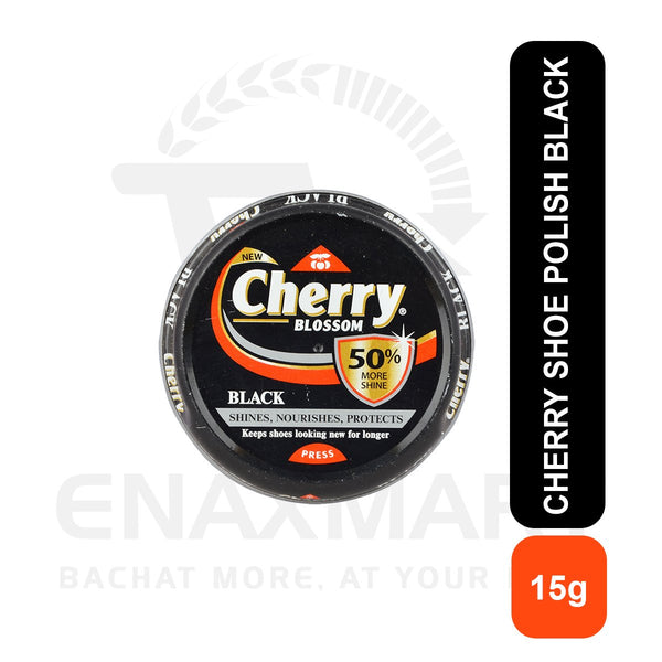 Cherry Shoe Polish Black 15G