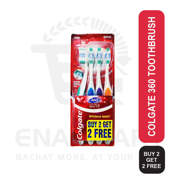 Colgate 360 Toothbrush Buy 2 Get 2 Free