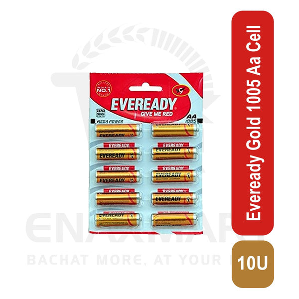 Eveready Gold 1005 Aa Cell 10 U