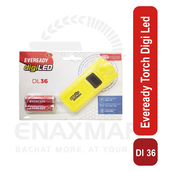 Eveready Torch Digi Led Dl 36