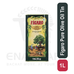 Figaro Pure Olive Oil Tin 1 L