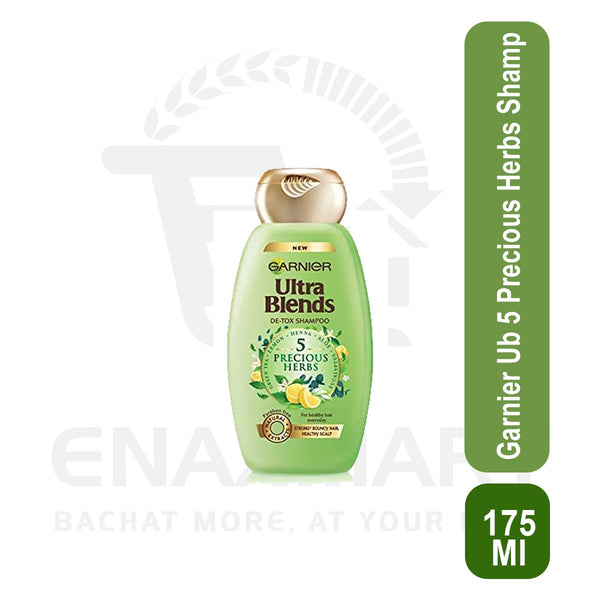 Garnier Ultra blends 5 Precious Herbs Shampoo 175 ml