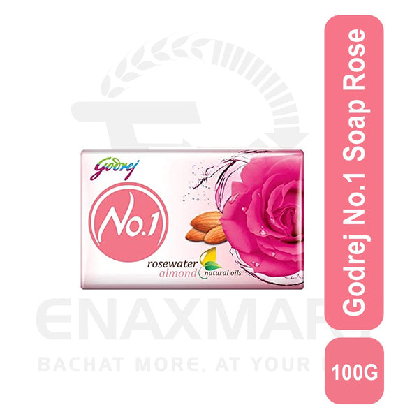Godrej No.1 Soap Rose 4 U X 100 G