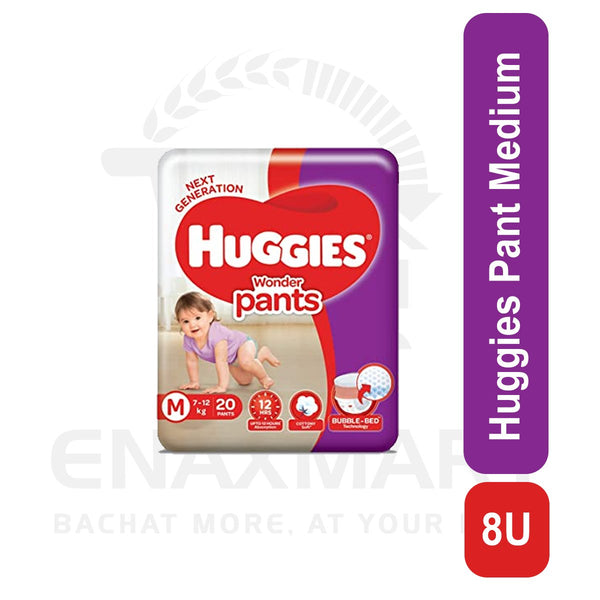 Huggies Pant Medium 1 pant overnight absorption