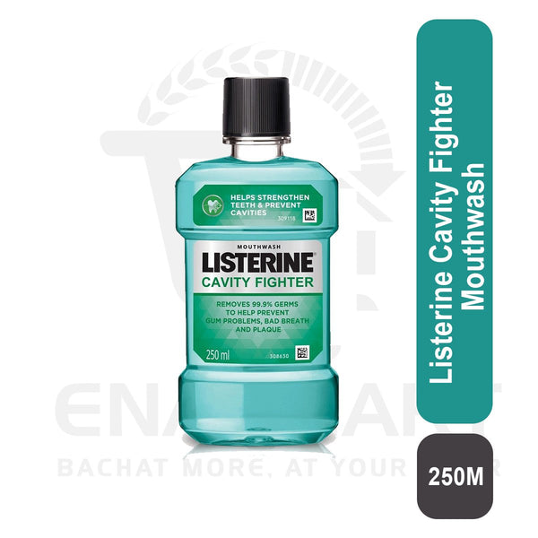 Listerine Cavity Fighter Mouthwash 250 M