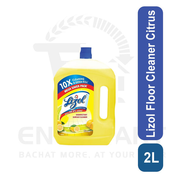 Lizol Floor Cleaner Citrus 2L
