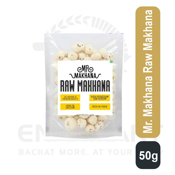 Mr. Makhana Raw Makhana 50 G