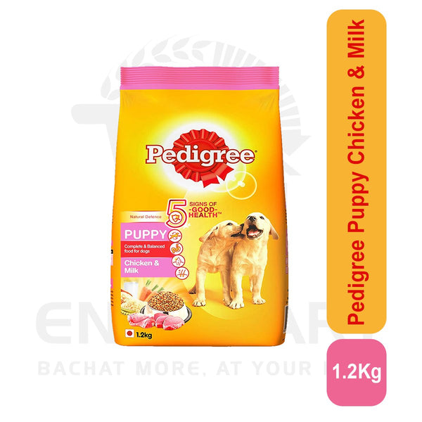 Pedigree Puppy Chicken & Milk 1.2 Kg