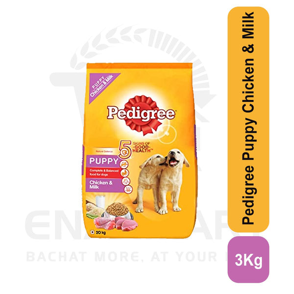 Pedigree Puppy Chicken & Milk 3 Kg