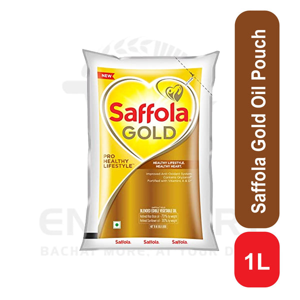 Saffola Gold Oil Pouch 1 L