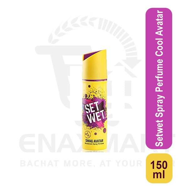 Setwet Spray Perfume Cool Avatar 150 ml