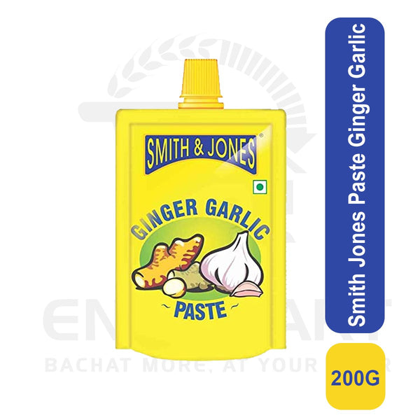 Smith Jones Paste Ginger Garlic 200 G