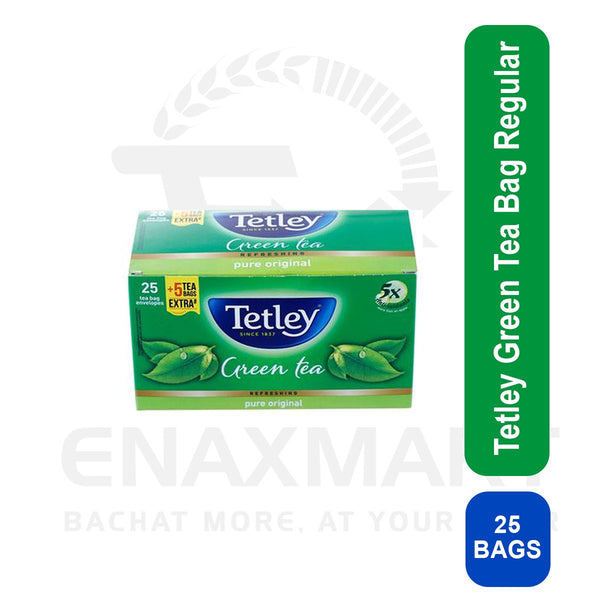 Tetley Green Tea Bag Regular 25 U