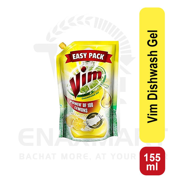 Vim Dishwash Gel 155 ml
