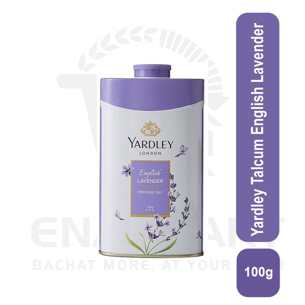 Yardley Talcum English Lavender 100G