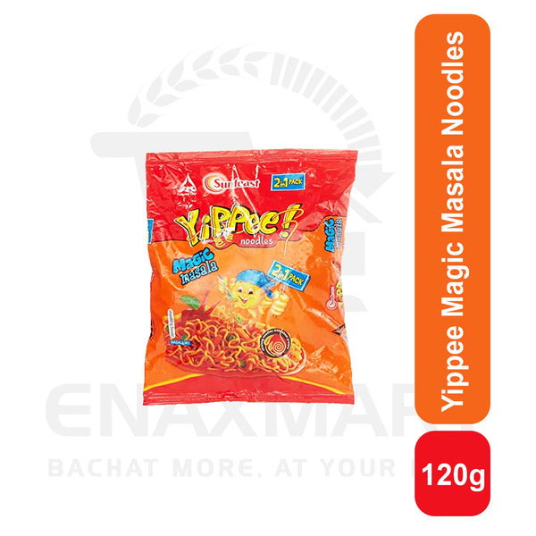 Yippee Noodles Magic Masala 120 G