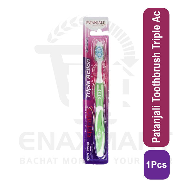 Patanjali Toothbrush Triple Action