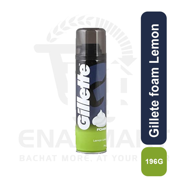 Gillete foam Lemon 196G