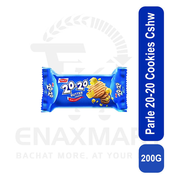 Parle 20-20 Cookies Cashew 200G
