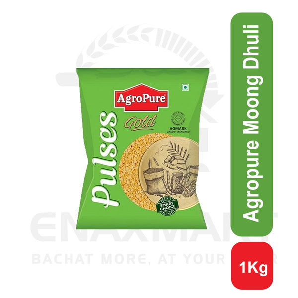 Agropure Moong Dhuli 1 Kg
