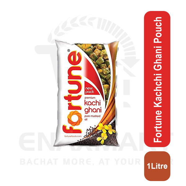 Fortune Kachchi Ghani 1 Litre Pouch