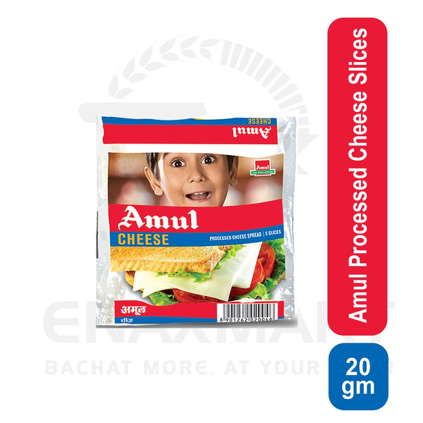 Amul Processed Cheese Slices 20 Gm