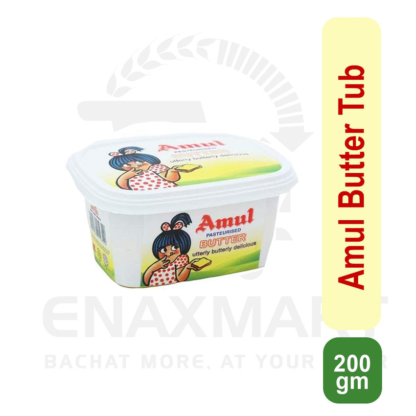 Amul Butter 200 Gm Tub