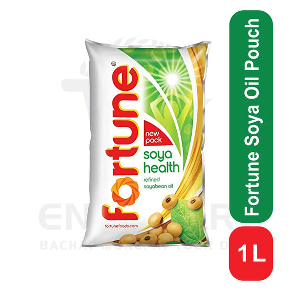 Fortune Soyabean Oil Pouch 1 L