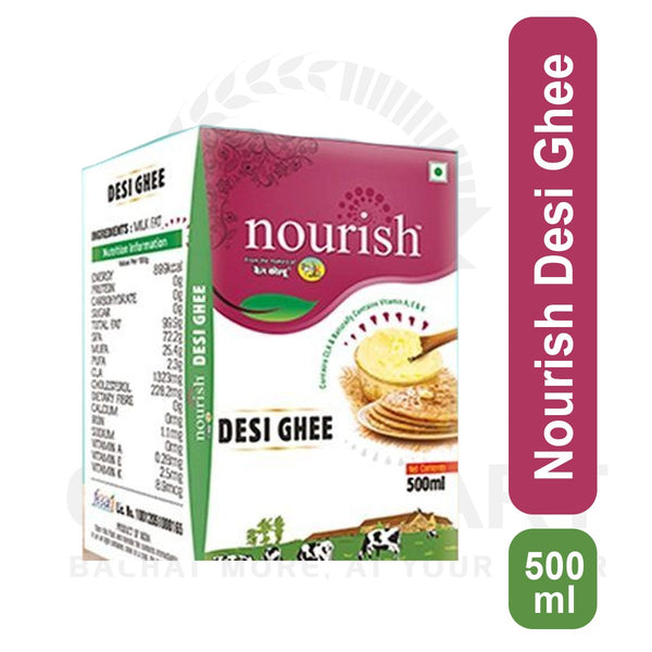 Nourish Desi Ghee 500 Ml