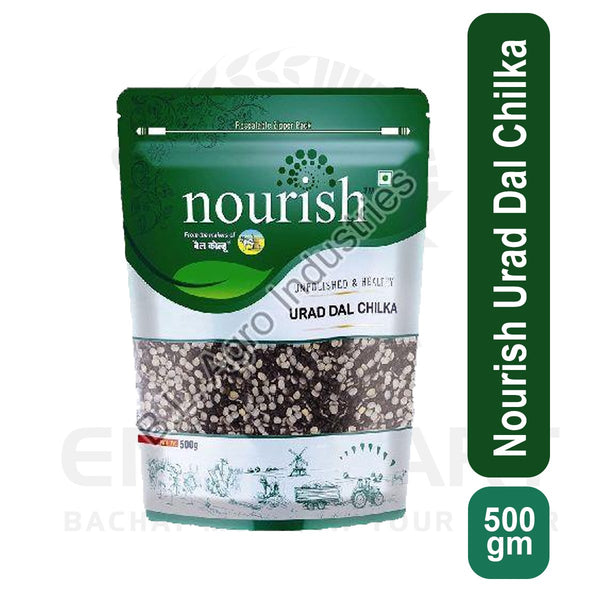 Nourish Urad Dal Chilka 500 gm