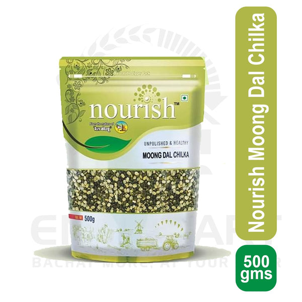 Nourish Moong Dal Chilka 500 gms