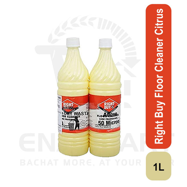 Right Buy Floor Cleaner Citrus 1 L*2U ( Buy 1,Get 1)