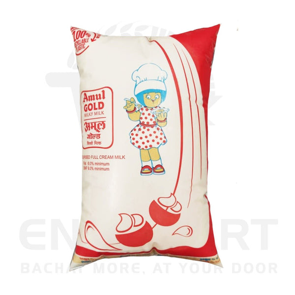 Amul Gold Full Cream Mil 1 Litre