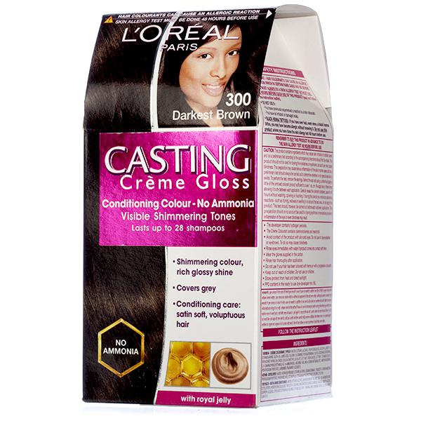 L'OREAL P CASTING DARKEST BROWN 72 ml