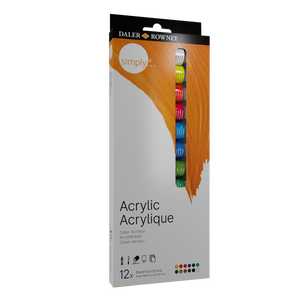 Simply Acrylic Tubes 12 Set