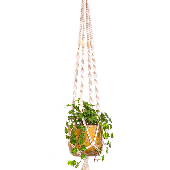 Macrame Planter Kit - Natural Cotton