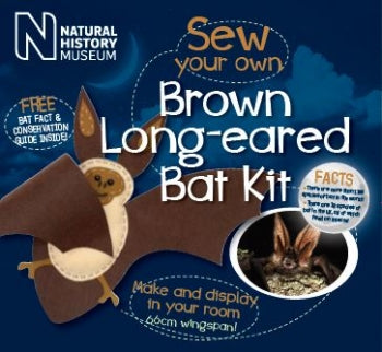 Sew your own Brown Long Eared Bat Kit