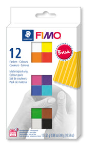 Fimo Soft 12 Colour Set