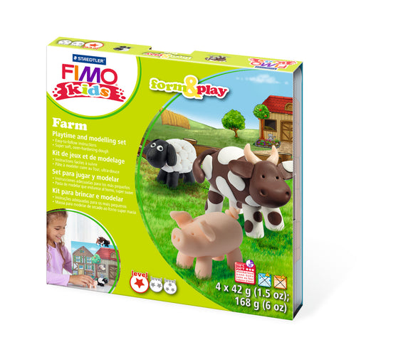 Fimo Form & Play Farm