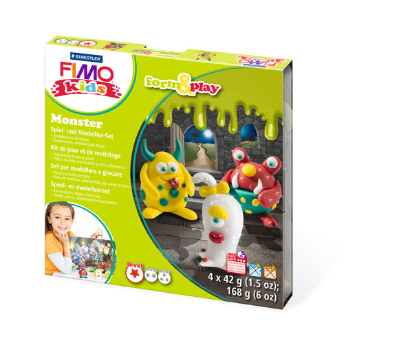 Fimo Form & Play Monster