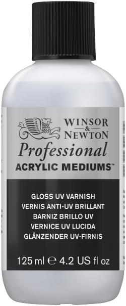 Winsor and Newton Artist Acrylic Gloss Varnish 125ml