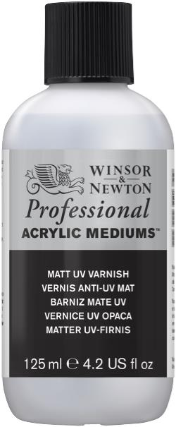 Winsor and Newton Artist Acrylic Matt Varnish 125ml