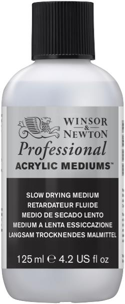 Winsor and Newton Artist Acrylic Slow Drying Medium 125ml